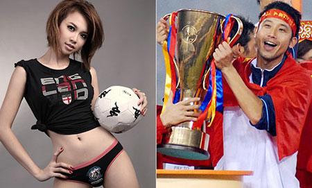 Bóng hồng showbiz của cầu thủ Việt ngày ấy – bây giờ