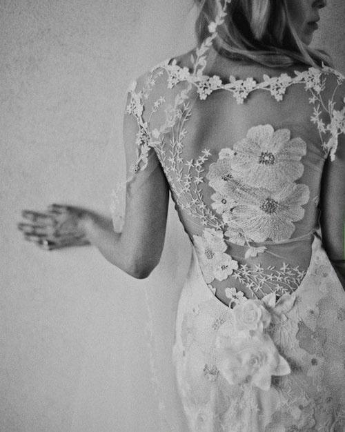 Váy cưới tôn lưng thon mềm mại lên ngôi mùa thu - 4
