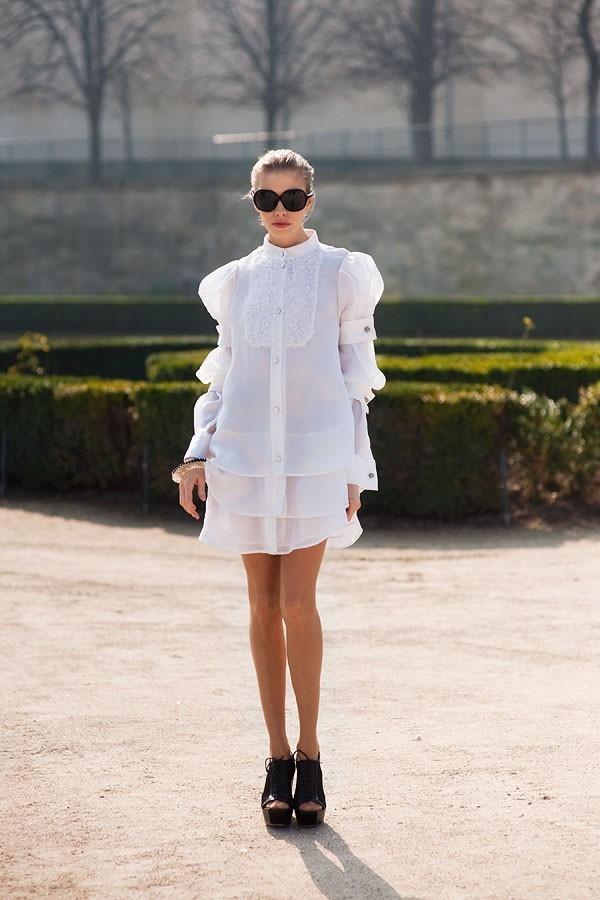 """Little White Dress - chiếc váy """"quyền lực"""" của phái đẹp Hè 2013 20"""