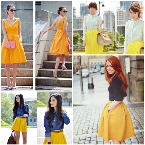 Váy xòe nào đang 'tung hoành' street style? - 7