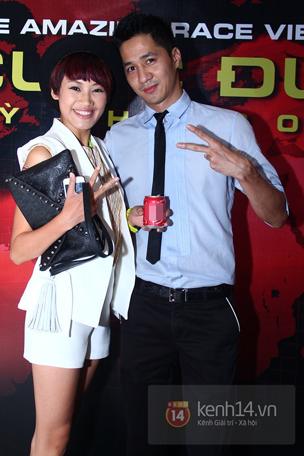 """Đội Diệp Lâm Anh """"lội ngược dòng"""" chiến thắng Amazing Race 2013 6"""
