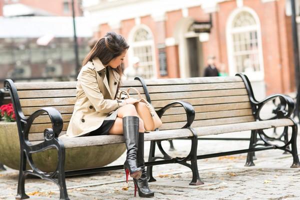 """Công thức chọn và phối boots cao cổ cho nàng """"chân ngắn"""" 4"""