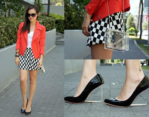 """""""Refresh"""" style ngày hè với giày cao gót trong suốt 21"""