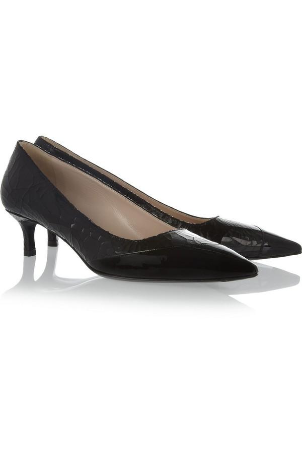 Lựa giày cao gót đen bình dân đến cao cấp cho nàng công sở 8