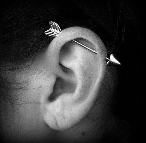 Muôn vàn kiểu xỏ khuyên tai khiến con gái mê mẩn