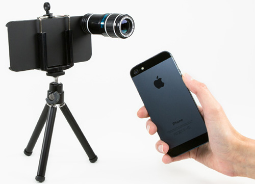 20 phụ kiện chụp hình cực độc cho iPhone 4