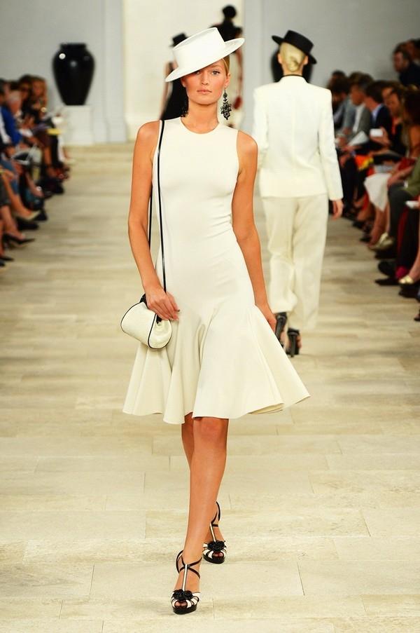 """Little White Dress - chiếc váy """"quyền lực"""" của phái đẹp Hè 2013 2"""