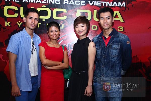 """Đội Diệp Lâm Anh """"lội ngược dòng"""" chiến thắng Amazing Race 2013 8"""