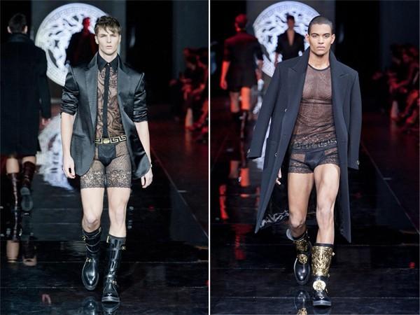 Giật mình với BST để lộ nguyên quần chíp của Versace 11