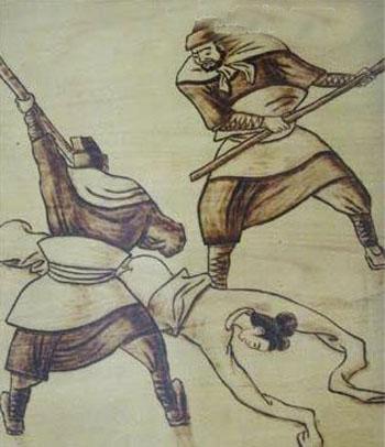 Những hình phạt ghê rợn với phụ nữ ngoại tình thời cổ 10