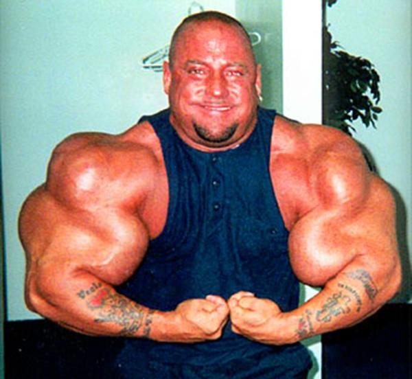"""Choáng với thân hình biến dạng khủng khiếp của những người """"cuồng"""" gym 12"""