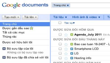 Google Docs - inLook.vn