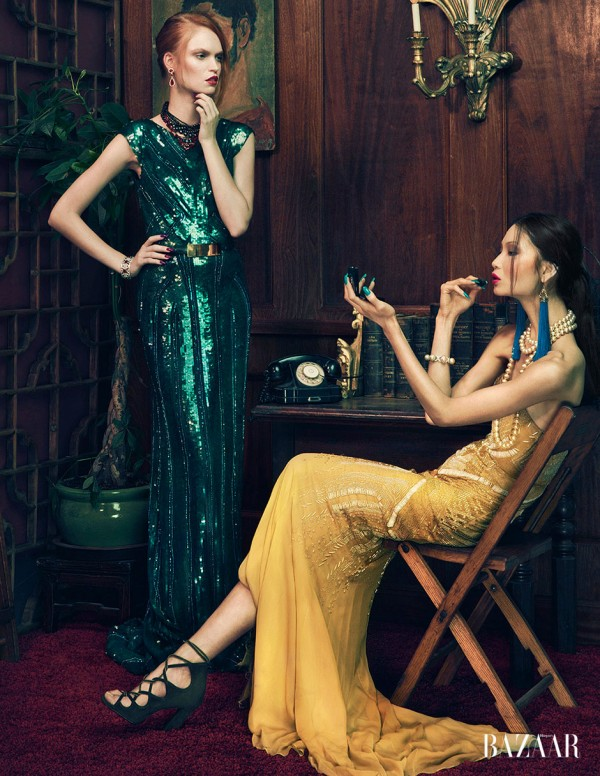 Evening Elegance by An Le for Harper's Bazaar Vietnam