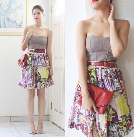 Diện váy đẹp như 'bản sao' của Selena Gomez, Thời trang, nhan vat thoi trang, do dep, mac dep, chan vay, ao so mi, quan sooc