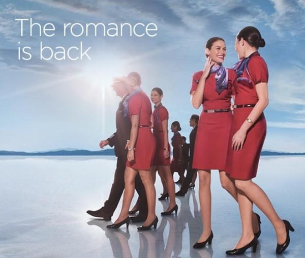 Một ảnh quảng cáo năm 2014 của hãng Virgin Australia. Ảnh: Mashable
